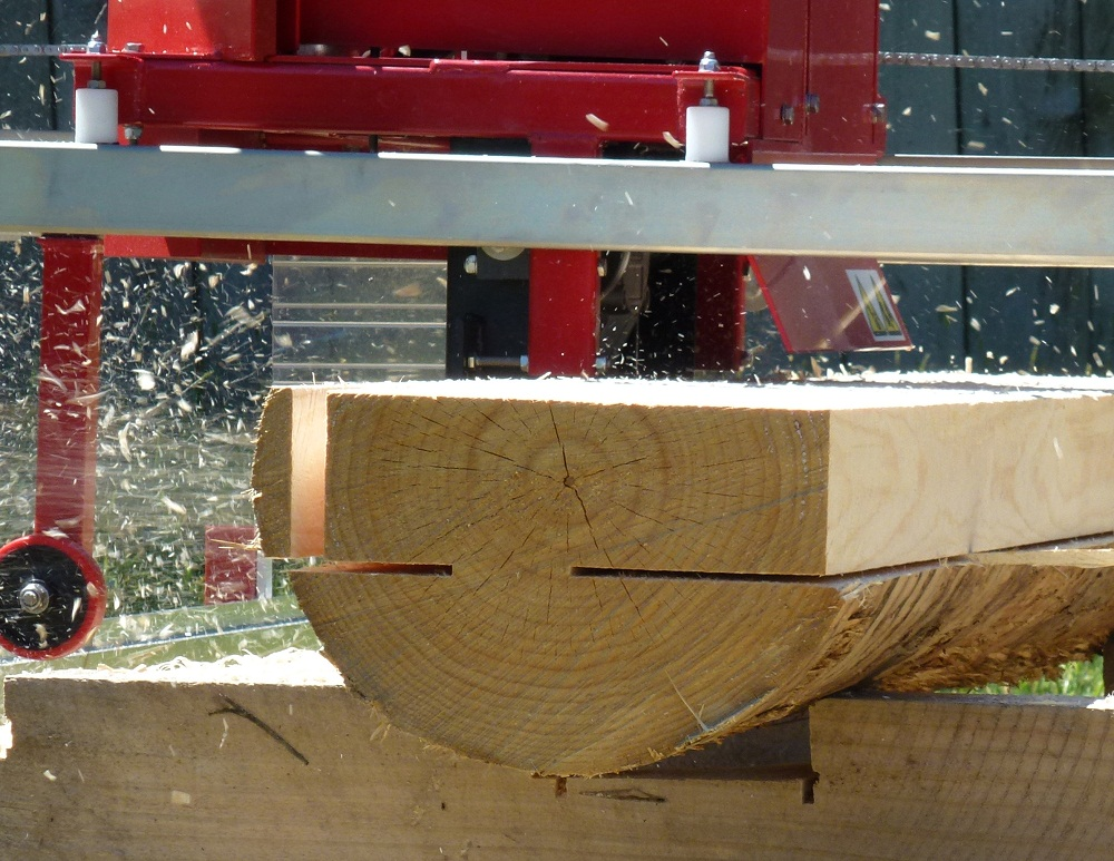 The Junior Peterson Portable Sawmill Features